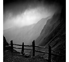 Top of Honister Pass Photographic Print