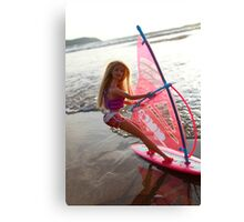 Windsurf Barbie Canvas Print