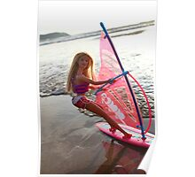 Windsurf Barbie Poster