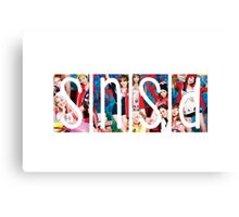 SNSD - Girls Generation I Got A Boy Canvas Print