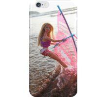 Vintage windsurf Barbie iPhone Case/Skin