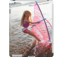 Vintage windsurf Barbie iPad Case/Skin