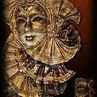 Venetian mask n. 2 by Luisa Fumi