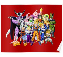 Dragon Ball Z Squad Poster