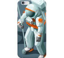 Isometric Moonwalking Astronaut iPhone Case/Skin