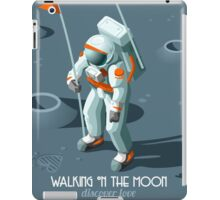 Isometric Moonwalking Astronaut iPad Case/Skin