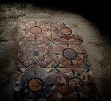 Mosaic Floor, Pompeii by James Hennman