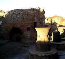The Bakery of Modesto, Pompeii by James Hennman