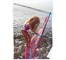 Beach barbie Poster