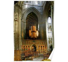 Entrance to the Choir at Ripon Cathedral Poster