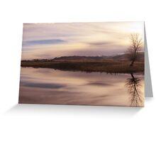 Duplicity - Harrison, Montana Greeting Card