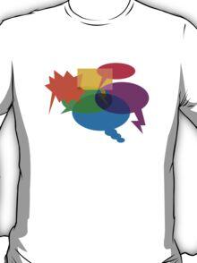 Speech Bubbles T-Shirt