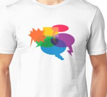 Speech Bubbles Unisex T-Shirt