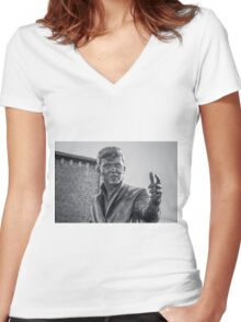 Billy Fury Women's Fitted V-Neck T-Shirt