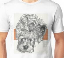 Soft-Coated Wheaten Terrier Father & Son Unisex T-Shirt
