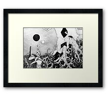 axis mundi Framed Print
