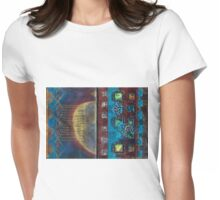Synthesis (Artist Book - pp3&4) Womens Fitted T-Shirt