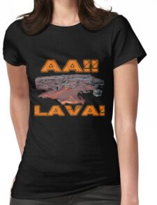 AAH! Lava Womens Fitted T-Shirt