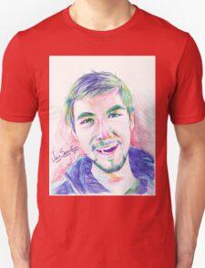 Jacksepticeye Pen Portrait Unisex T-Shirt