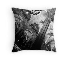 Barcelona Cathedral II Throw Pillow