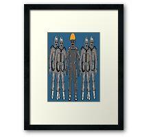 The Second Cybermen (Tomb Cybermen) Framed Print