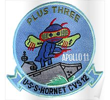 CVS-12 USS Hornet Apollo 11 Recovery Patch 1 Poster