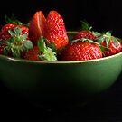 Strawberries Peering From Bowl by SpicieFoodie