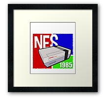 "Nintendo "" NES "" / Fun since 1985 Framed Print"