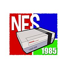 "Nintendo "" NES "" / Fun since 1985 Photographic Print"