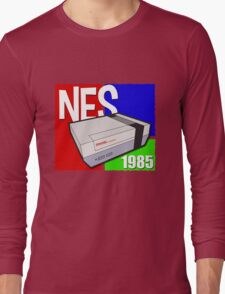 "Nintendo "" NES "" / Fun since 1985 Long Sleeve T-Shirt"