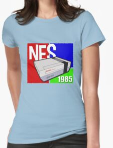 "Nintendo "" NES "" / Fun since 1985 Womens Fitted T-Shirt"