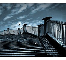 steps from the harbour Photographic Print