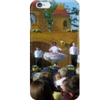 Slovak traditional children dancing in traditional costumes iPhone Case/Skin
