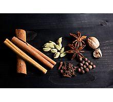 Aromatic Spice Mixture Photographic Print