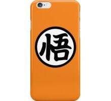 Goku's kanji iPhone Case/Skin