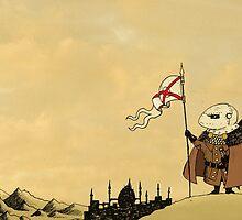 Watchful Knight by djrbennett