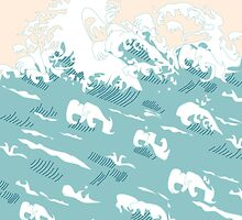 Waves by MartaOlgaKlara
