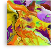 ABSTRACT64 wall art/ Clothing + Products Design Canvas Print
