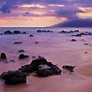 Sunset Rocks by Chris  DeLorenzo