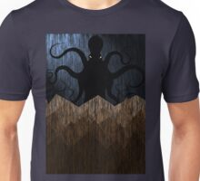 Cthulhu's mountains of madness - blue Unisex T-Shirt
