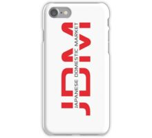 JDM Japanese Domestic Market (light background) iPhone Case/Skin
