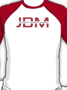 JDM Japanese Domestic Market (light background) T-Shirt