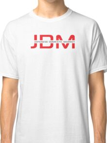 JDM Japanese Domestic Market (light background) Classic T-Shirt