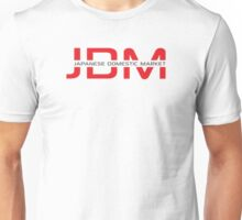 JDM Japanese Domestic Market (light background) Unisex T-Shirt