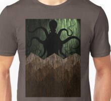 Cthulhu's mountains of madness - green Unisex T-Shirt