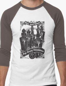 Cid's Final Fantasy Five & Dime Men's Baseball ¾ T-Shirt