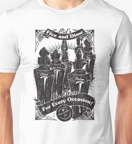 Cid's Final Fantasy Five & Dime Unisex T-Shirt