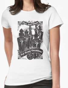 Cid's Final Fantasy Five & Dime Womens Fitted T-Shirt