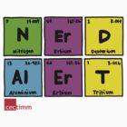 Geek Chic Range: Nerd Alert (Elementary) by cectimm