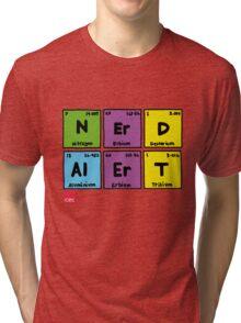 Geek Chic Range: Nerd Alert (Elementary) Tri-blend T-Shirt